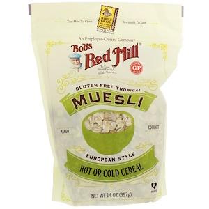 Бобс Рэд Милл, Muesli, Tropical, Gluten Free, 14 oz (397 g) отзывы