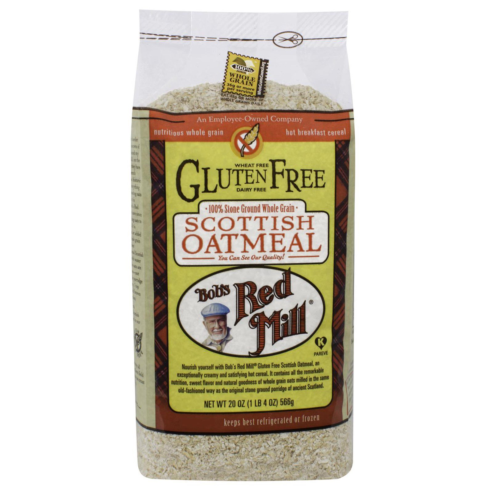Bob's Red Mill, Gluten Free Scottish Oatmeal, 20 oz (565 g)