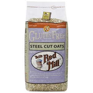 Бобс Рэд Милл, Steel Cut Oats, Gluten Free, 24 oz (680 g) отзывы покупателей