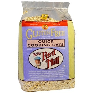 Bob's Red Mill, Quick Cooking Oats, Gluten Free, 2 lbs (907 g)