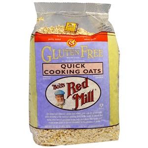 Бобс Рэд Милл, Quick Cooking Oats, Gluten Free, 32 oz (907 g) отзывы покупателей
