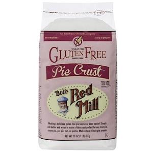 Бобс Рэд Милл, Pie Crust, Gluten Free, 16 oz (453 g) отзывы