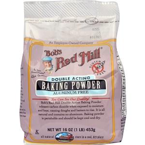 Бобс Рэд Милл, Baking Powder, Gluten Free, 16 oz (453 g) отзывы покупателей
