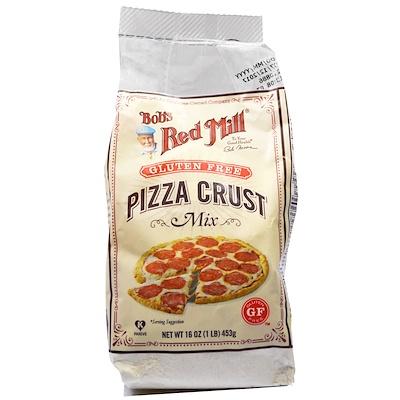 Pizza Crust Mix, Gluten Free, 16 oz (453 g) цена