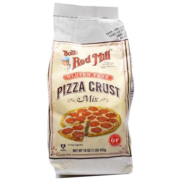 Bob's Red Mill, Gluten Free Pizza Crust Mix, 16 oz (453 g)