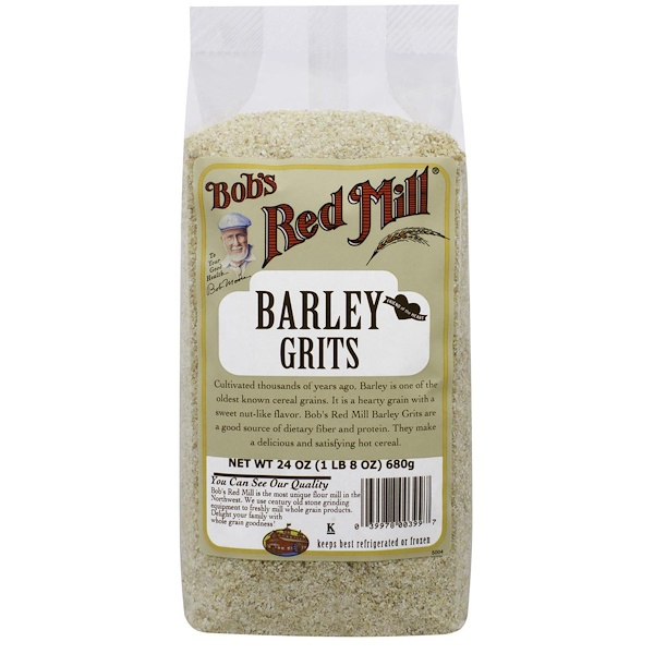 Bob's Red Mill, Barley Grits, 24 oz (680 g) (Discontinued Item)