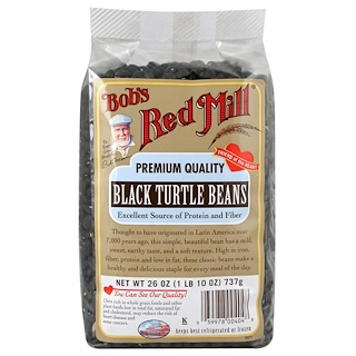 Bob's Red Mill, Black Turtle Beans, 26 oz (737 g)