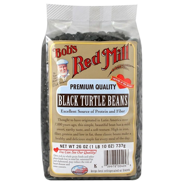 Bob's Red Mill, Black Turtle Beans, 26 oz (737 g) (Discontinued Item)