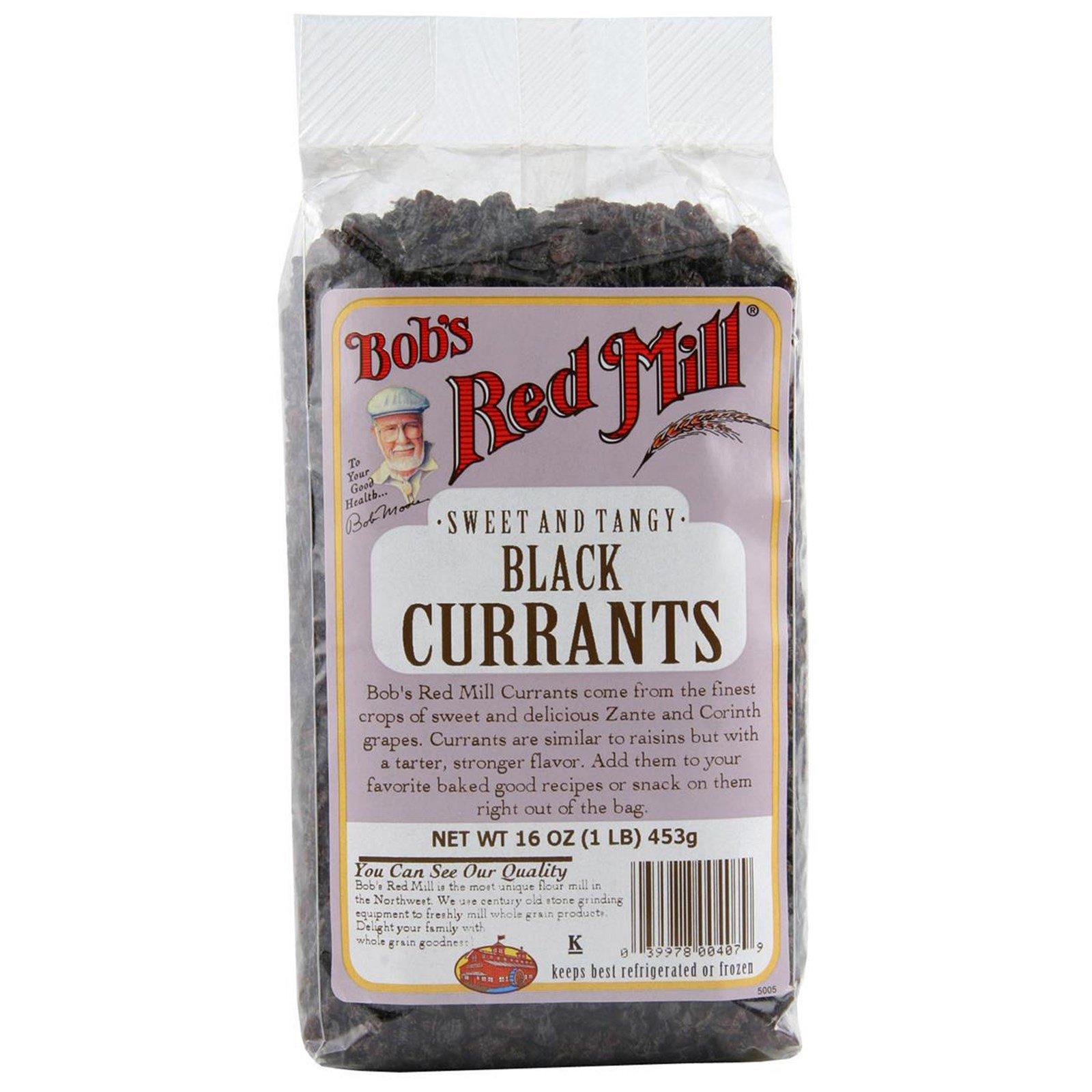Bob's Red Mill, Черный изюм, 16 унций (453 г)