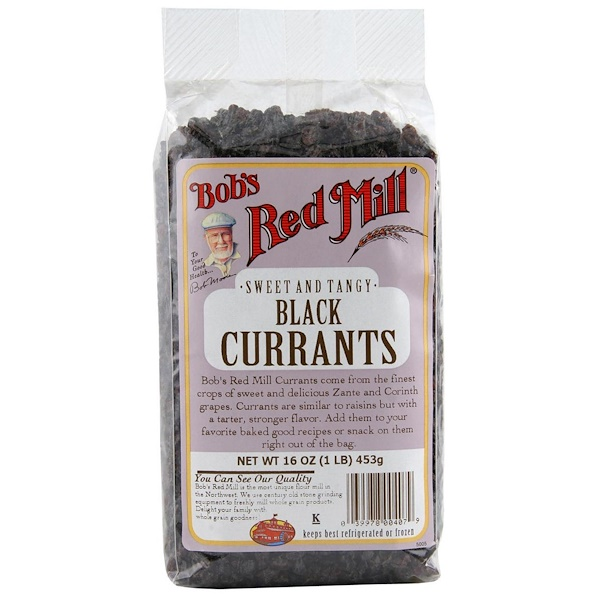 Bob's Red Mill, ブラックカラント, 16 oz (453 g) (Discontinued Item)