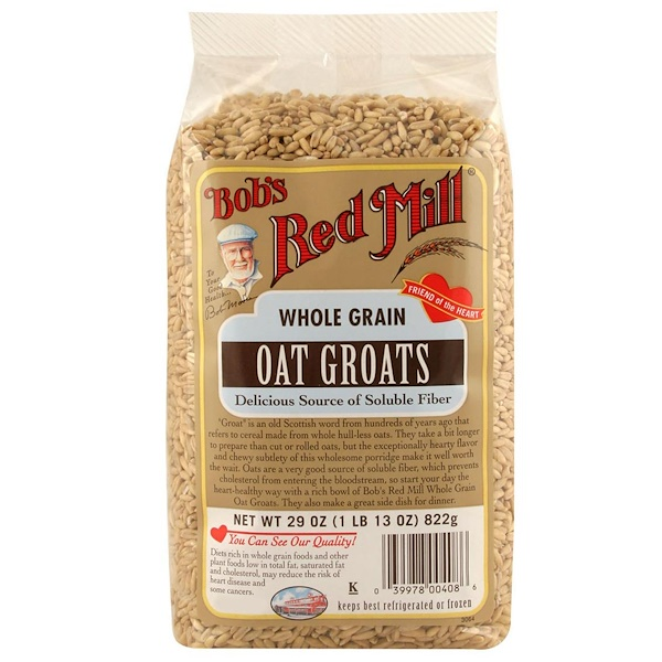 Bob's Red Mill, Whole Grain Oat Groats, 29 oz (822 g) (Discontinued Item)