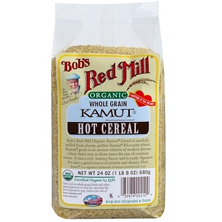 Bob's Red Mill, Organic, Kamut Hot Cereal, 24 oz (680 g)