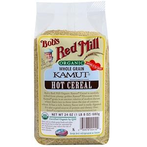 Бобс Рэд Милл, Organic Kamut Hot Cereal, Whole Grain, 24 oz (680 g) отзывы
