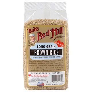 Bob's Red Mill, Long Grain Brown Rice, 27 oz (765 g)