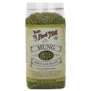 Bob's Red Mill, Mung, Heritage Beans, 27 oz (765 g)