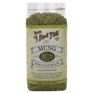 Bob's Red Mill, Mung, Heritage Beans, 1.7 lbs (765 g)