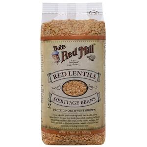 Бобс Рэд Милл, Red Lentils Heritage Beans, 27 oz (765 g) отзывы покупателей