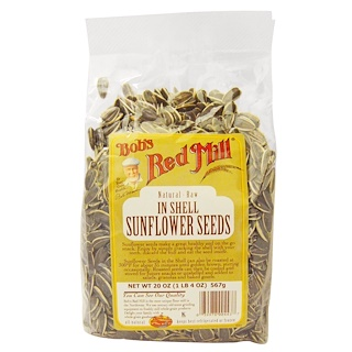 Bob's Red Mill, In Shell Sunflower Seeds, 20 oz (567 g)