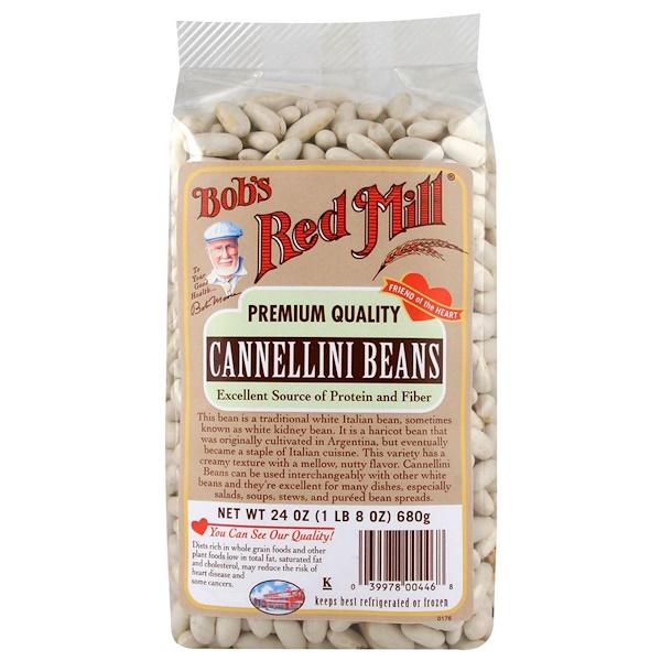 Bob's Red Mill, 白腰豆,24盎司(680克)
