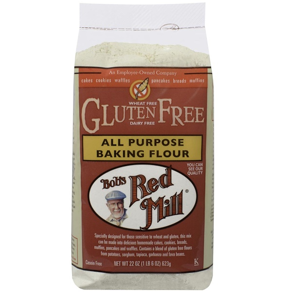 Bob's Red Mill, All Purpose Baking Flour, Gluten Free, 22 oz (623 g) (Discontinued Item)