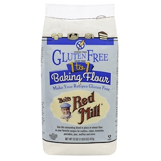 Bob's Red Mill, 1 to 1 Baking Flour, 22 oz (623 g)