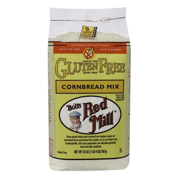 Bob's Red Mill, Cornbread Mix, Gluten Free, 20 oz (567 g)