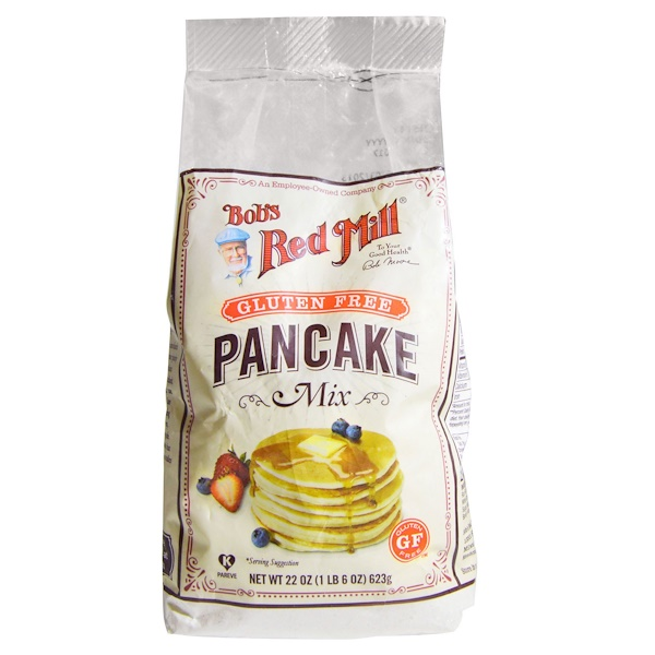 Bob's Red Mill, Pancake Mix, Gluten Free, 22 oz (623 g) (Discontinued Item)