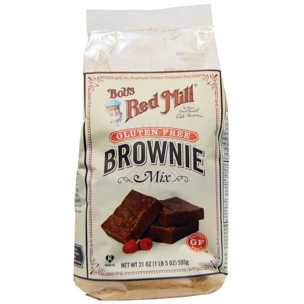 Bob's Red Mill, Mélange pour brownies, sans gluten, 21 oz (595 g) (Discontinued Item)