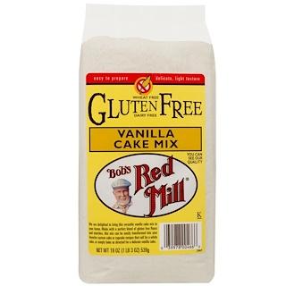 Bob's Red Mill, Vanilla Cake Mix, Gluten Free, 19 oz (539 g)