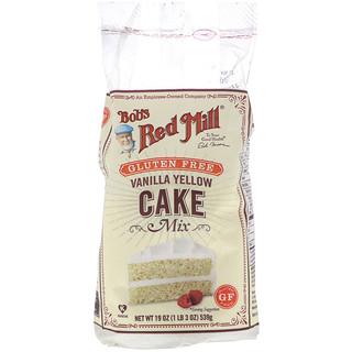Bob's Red Mill, Vanilla Yellow Cake Mix, Gluten Free, 19 oz (539 g)