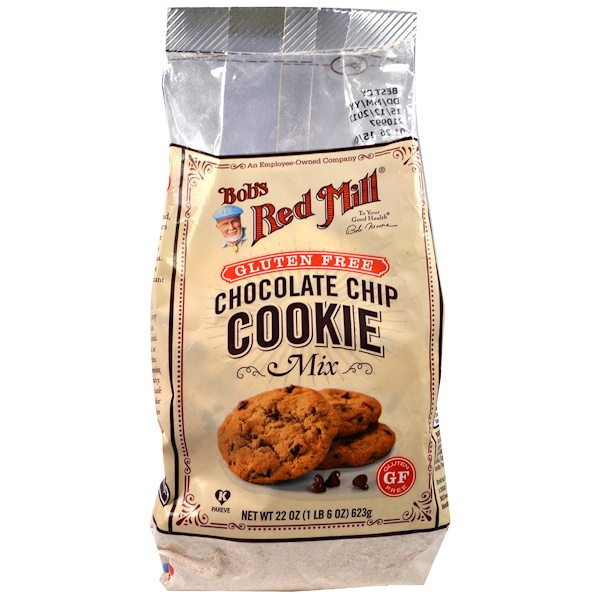 Bob's Red Mill, Chocolate Chip Cookie Mix, Gluten Free, 22 oz (623 g)