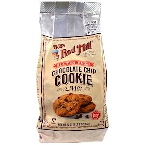Бобс Рэд Милл, Chocolate Chip Cookie Mix, Gluten Free, 22 oz (623 g) отзывы