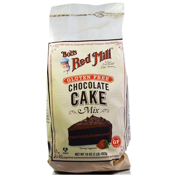 Bob's Red Mill, Chocolate Cake Mix, Gluten Free, 16 oz (453 g) (Discontinued Item)