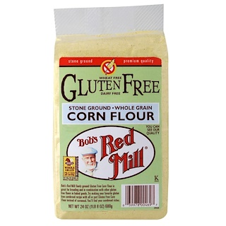 Bob's Red Mill, Gluten Free Corn Flour, 24 oz (680 g)