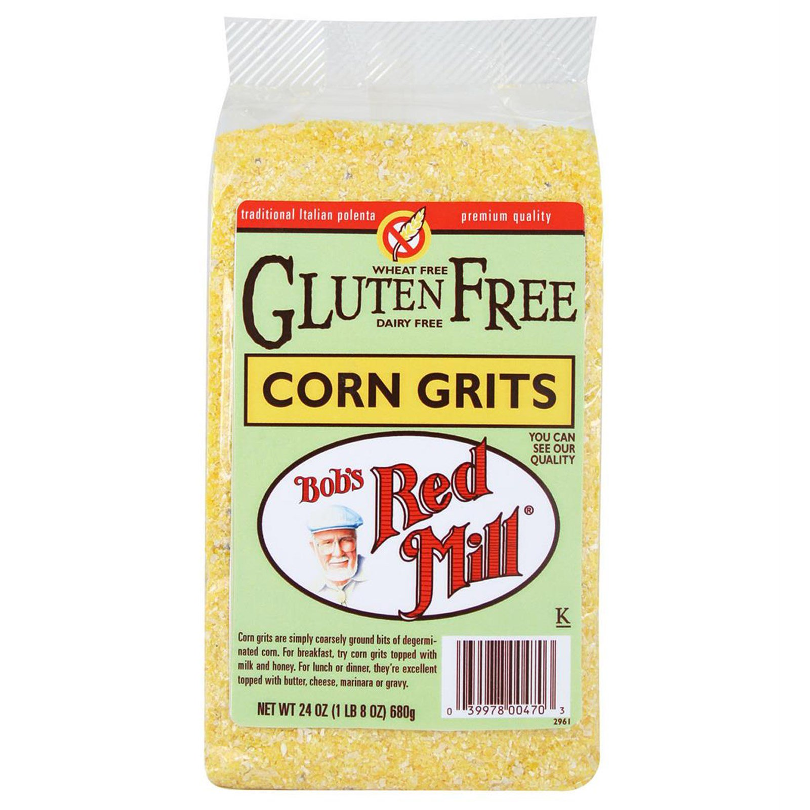 Do grits have gluten in them