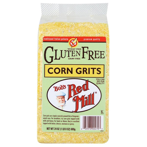 Bob's Red Mill, Corn Grits, 24 oz (680 g) (Discontinued Item)