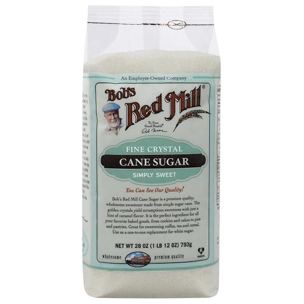 Bob's Red Mill, Cane Sugar, Fine Crystal, 28 oz (793 g) (Discontinued Item)