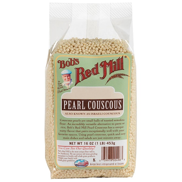 Bob's Red Mill, Natural Pearl Couscous, 16 oz (453 g) (Discontinued Item)