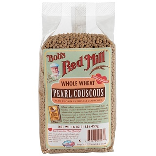 Bob's Red Mill, Pearl Couscous, Whole Wheat, 16 oz (453 g)
