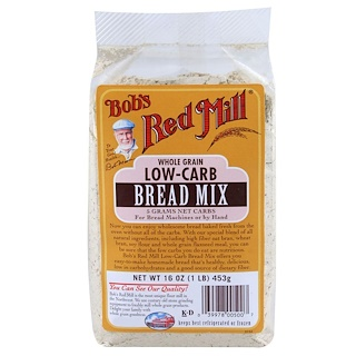 Bob's Red Mill, Pan bajo en carbohidratos, 16 oz (453 g)