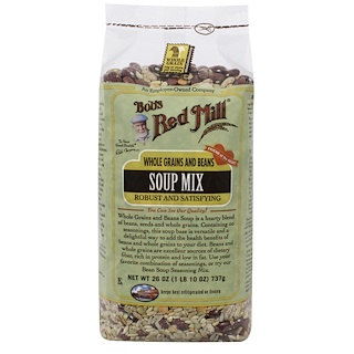 Bob's Red Mill, Soup Mix, Whole Grains and Beans, 26 oz (737 g)