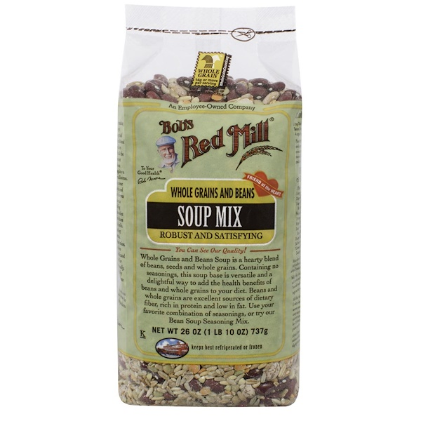 Bob's Red Mill, Soup Mix, Whole Grains and Beans, 1.6 lbs (737 g)