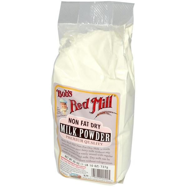 Bob's Red Mill, Non Fat Dry Milk Powder, 26 oz (737 g) (Discontinued Item)