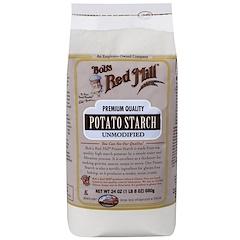 Bob's Red Mill, ボブズレッドミル, Potato Starch, Unmodified, 24 oz (680 g)