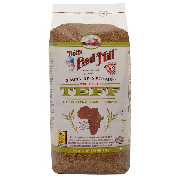 Bob's Red Mill, Whole Grain Teff, 1.5 lbs (680 g)