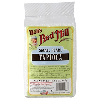 Bob's Red Mill, Small Pearl Tapioca, 24 oz (680 g)