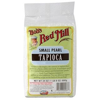 Bob's Red Mill, Tapioca de Perlas Pequeñas, 24 oz (680 g)