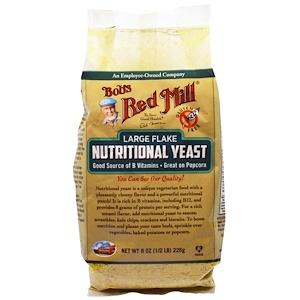 Бобс Рэд Милл, Large Flake Nutritional Food Yeast, 8 oz (226 g) отзывы покупателей