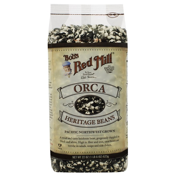 Bob's Red Mill, Orca, Heritage Beans, 22 oz (623 g) (Discontinued Item)