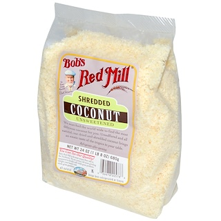Bob's Red Mill, Shredded Coconut, Unsweetened, 24 oz (680 g)